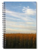 Fields Of Gold - Digital Painting Effect Spiral Notebook