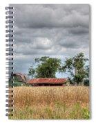 Fields Of Golden Grain Spiral Notebook