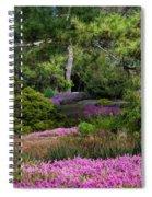 Fields Of Heather Spiral Notebook