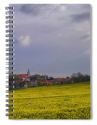Fields Of Rapeseed In Bloom, Lower Spiral Notebook
