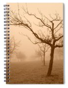 Fields Of Trees Spiral Notebook