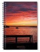 Fiery Afterglow Spiral Notebook