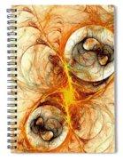 Fiery Birth Spiral Notebook