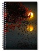 Fiery Fall... Spiral Notebook
