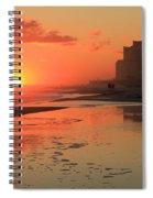 Fiery Seashore Spiral Notebook