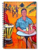 Fiesta At The Beach Spiral Notebook