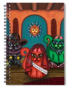 Fiesta Cats II Spiral Notebook