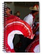Fiesta De Los Mariachis Spiral Notebook