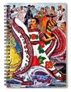 Fiesta Parade Spiral Notebook