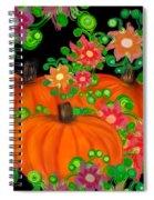 Fiesta Pumpkins Spiral Notebook
