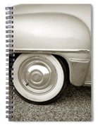 Fifties Plymouth I I Spiral Notebook
