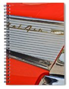 Fifty Seven Chevy Bel Air Spiral Notebook