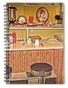 Fifty's Lunch Counter  Nostalgic Spiral Notebook