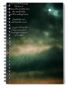 Fight For Your Dreams Spiral Notebook