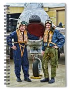 Fighter Pilots Spiral Notebook