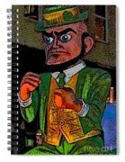 Fighting Irish Spiral Notebook