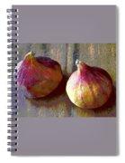 Figs Still Life Pop Art Spiral Notebook