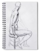 Figure Drawing Study V Spiral Notebook