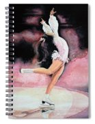 Figure Skater 20 Spiral Notebook