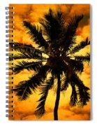 Fijian Sunset Spiral Notebook