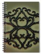 Filigree  Spiral Notebook