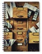Filing System Spiral Notebook