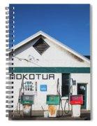 Filling Station, Mokotua, The Catlins Spiral Notebook