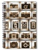 Film Camera Proofs Spiral Notebook