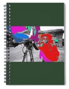 Film Homage Andy Warhol Lonesome Cowboys Old Tucson Arizona 1968-2013 Spiral Notebook