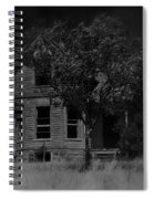 Film Homage Anthony Perkins Janet Leigh Alfred Hitchcock Psycho 1960 Vacant House Black Hills Sd '65 Spiral Notebook