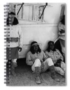 Film Homage Apache Extras The High Chaparral 1969 Old Tucson Arizona 1969-2008  Spiral Notebook