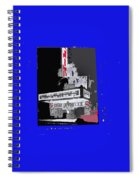 Film Homage Astaire Rogers The Gay Divorcee Collage Rko Radio Fox Tucson 1934-2012 Spiral Notebook