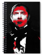 Film Homage Bela Lugosi Mark Of The Vampire 1935-2013 Spiral Notebook