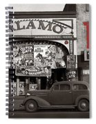 Film Homage Bela Lugosi Shadow Of Chinatown 1936 John Vachon Fsa Alamo Theater Washington D.c. 2010 Spiral Notebook