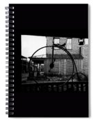 Film Homage Buster Keaton Our Hospitality 1923 Unicycle Old Tucson Arizona 1967-2008 Spiral Notebook