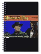 Film Homage Cameron Mitchell Minnesota Clay Lobby Card 1964-2013 Spiral Notebook