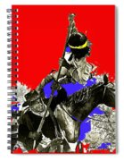 Film Homage Cameron Mitchell The High Chaparral Fighting Apache Publicity Photo Collage Spiral Notebook