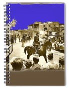 Film Homage Cameron Mitchell The High Chaparral Main Street Old Tucson Az Publicity Photo Spiral Notebook