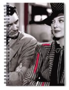 Film Homage Cary Grant Rosalind Russell Howard Hawks His Girl Friday 1940-2008 Spiral Notebook