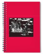 Film Homage Charles Chaplin The Gold Rush 1925 Camera Crew Collage 2010 Spiral Notebook
