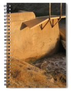 Film Homage Cinematographer John A. Alonzo  Chinatown 1974 Waterway Casa Grande Arizona 2005 Spiral Notebook