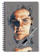 Film Homage Close-up James Cagney Angels With Dirty Faces 1939-2014 Spiral Notebook