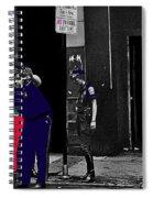 Film Homage Cool Hand Luke 1967 Paddy Wagon Porn Theater Pilgrim Theater Boston Ma 1977-2008 Spiral Notebook
