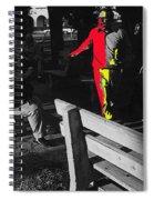 Film Homage Elmer Gantry 2 1960 Street Preacher Armory Park Tucson Arizona Spiral Notebook