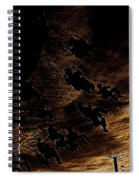 Film Homage F.w. Murnau Sunrise 1927 Midway Arizona State Fair Phoenix 1980-2008 Spiral Notebook