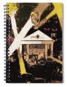 Film Homage Gone With The Wind Premiere Collage Loew's Grand Atlanta Georgia 1939-2008 Spiral Notebook