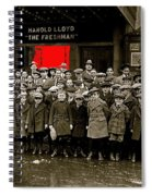 Film Homage Harold Lloyd The Freshman  City Orphans Ambassador Theater Washington D.c. 1925-2010  Spiral Notebook