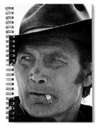 Film Homage Jack Palance Monte Walsh Set Old Tucson Arizona 1969 Spiral Notebook
