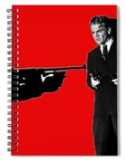 Film Homage James Cagney Angels With Dirty Faces 1939-2014 Spiral Notebook