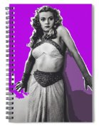 Film Homage Jean Rogers Dale Arden Flash Gordon Serial 1936 Publicity Photo Color Added 2008 Spiral Notebook